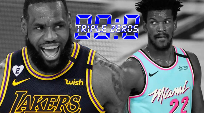 Triple Zeros: Finally and the Finals