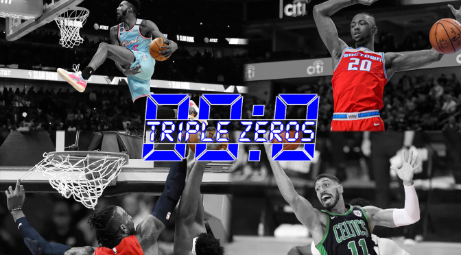 Triple Zeros: An A-Blazing Offseason